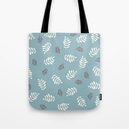 Falling Leaves – Blue Tote Bag