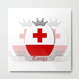Tonga Metal Print