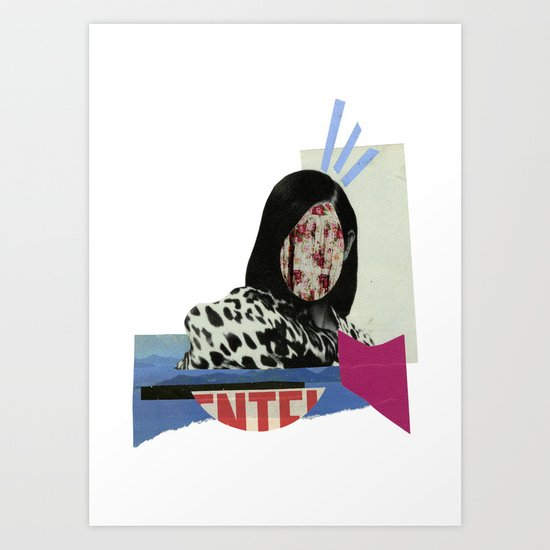 stunned Art Print