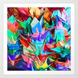 ORAGAMI Art Print