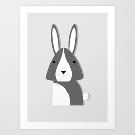 Forest Critter Art Print