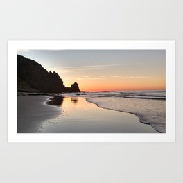 Sunrise at Black Rock, Luz-Lagos, Portugal Art Print