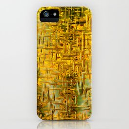 Golden Dreams iPhone Case