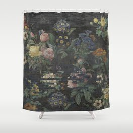 Old Fancy 2 Shower Curtain