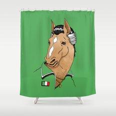 Italian Stallion Shower Curtain