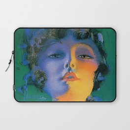 """""""Girl of My Dreams"""" Pinup by Rolf Armstrong Laptop Sleeve"""