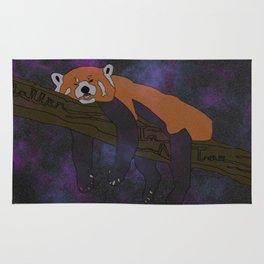 RED PANDA, IN SPACE! Rug