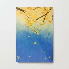 Fall Painting Metal Print