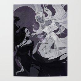 Nyx and Selene Poster