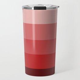 Western Sunset - Color Strips - Colors of Travel Travel Mug
