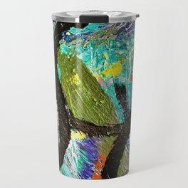 My Life Square Abstract Travel Mug