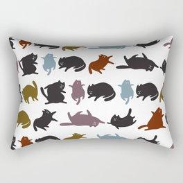 Yoga Cats Rectangular Pillow