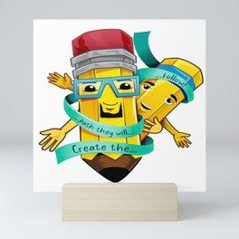 Pops and Son Mini Art Print