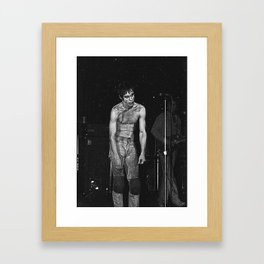 Mr. POP Framed Art Print