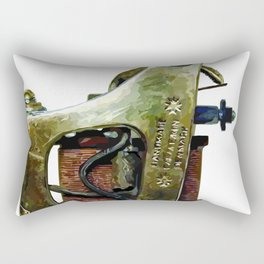 Machine three Rectangular Pillow