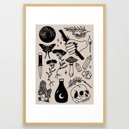 Forest Spells Framed Art Print