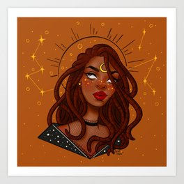 Celestial Serenity Art Print