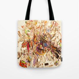 The Seven Head Dresses of Lucifer Tote Bag