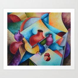 Jags Art Print