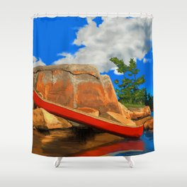 Day Tripping  Shower Curtain