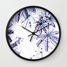 Ranidrops VI Wall Clock