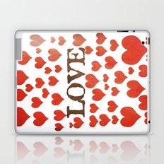 Love Heart Valentines Design  Laptop & iPad Skin