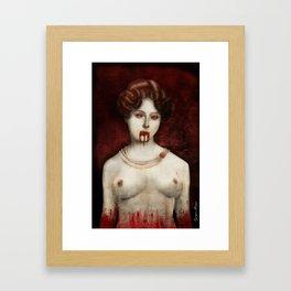 Countess Elizabeth Báthory Framed Art Print