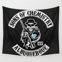 chemistry Wall Tapestries featuring Sons of Chemistry by I.Nova