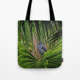 Guard Bird Tote Bag