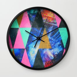 Weight of the World Wall Clock