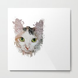 Nala - the Cat Metal Print