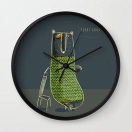 Beary good Wall Clock