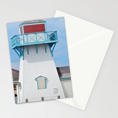 Boarded  Up Lighthouse in Summerside Stationery Cards