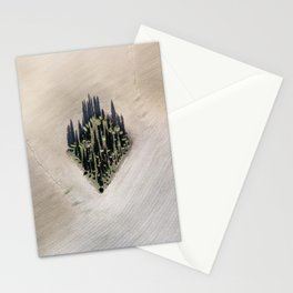 Cipressi toscani Stationery Cards