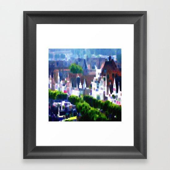 Travemuende Framed Art Print