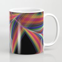 triangles Mugs featuring Triangles by David Zydd