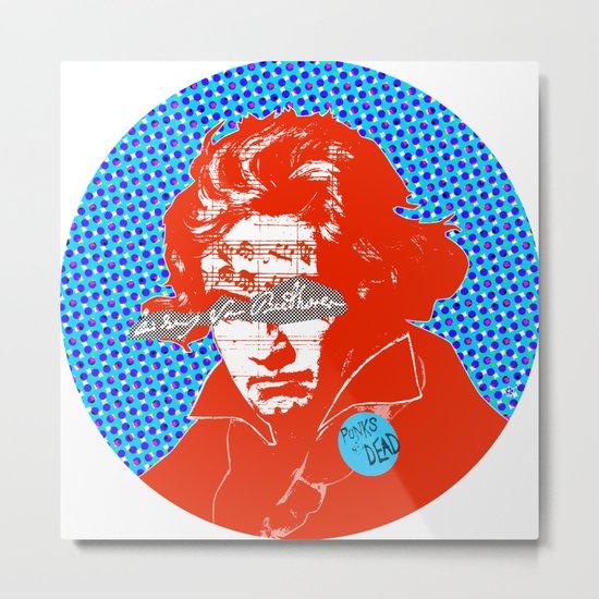 Ludwig van Beethoven 12 Metal Print