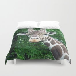 Whatcha Looking At? Duvet Cover