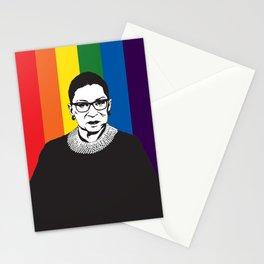 Ruth Bader Ginsburg Rainbow Stationery Cards