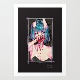 don't give up: jangmee Art Print