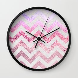 FUNKY MELON PINKBERRY Wall Clock