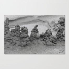 Sand Skyscrapers Canvas Print