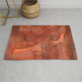 Abstract Nudes Rug