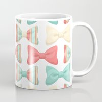 bows Mugs featuring bows by melazerg