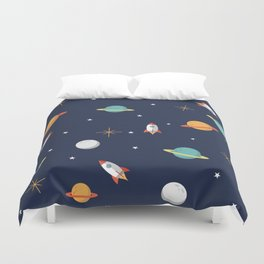 Space Pattern Duvet Cover