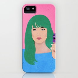 grimy ginny iPhone Case