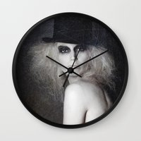 bambi Wall Clocks featuring Bambi by Studio46