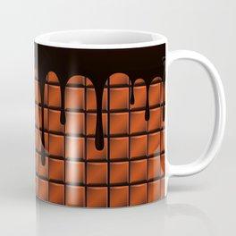 Dripping Chocolate Bar Coffee Mug