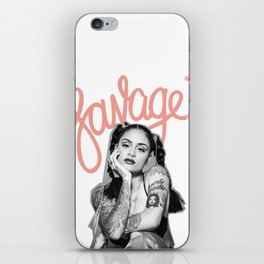 Kehlani SSS Set: SAVAGE iPhone Skin