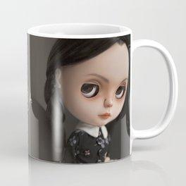 Erregiro Blythe Custom Doll Wednesday Addams Coffee Mug